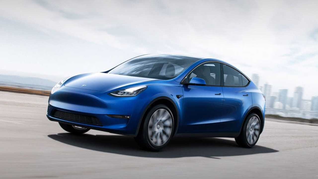 Tesla Model Y презентация и троллинг Маска